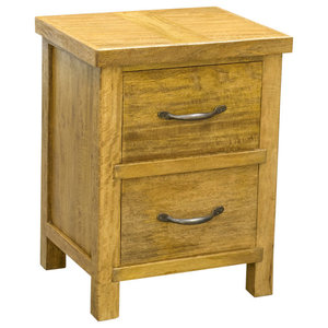 Highland 2-Drawer Bedside Table