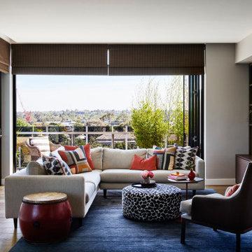 Hawthorn City views Apartment