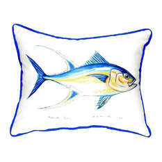 "Tuna Small Indoor/Outdoor Pillow, 11""x14"""