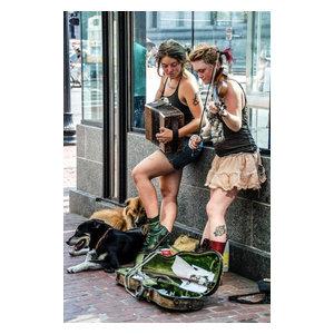 """Bohemiennes"" Photo Print, Canvas Print, 40x60 cm"