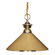 joshua marshal one light polished brass metal polished brass shade down pendant pendant lighting brass pendant lighting