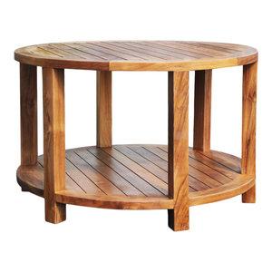 chic teak furniture. Plain Teak Teak Bahama Round Coffee Table By Chic Inc On Furniture I