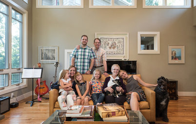 My Houzz: Making Room for 3 Generations