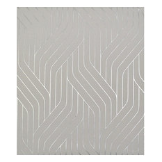 York Wallcoverings NW351 Ebb and Flow 56 9/10 Sq. Ft. Metallic Non-Pasted Synth