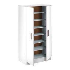 Basic Shoe Cupboard, White