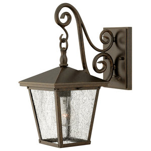 Trellis Traditional Outdoor Wall Light, Small