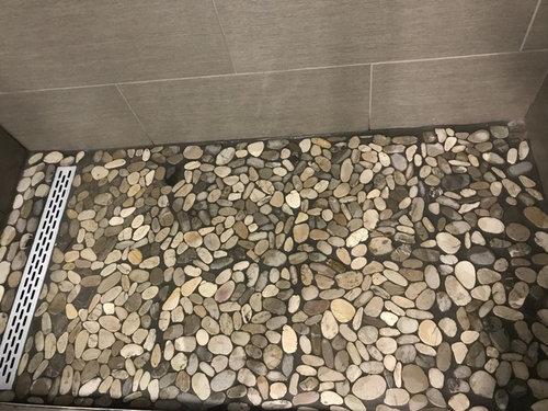 Shower Drain With Pebble Floor