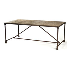 lana dining table dining tables ebe  w h b p industrial dining tables: dining table with wheels