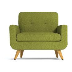 Beau Apt2B   Lawson Chair, Green Apple   Sectional Sofas