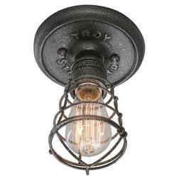 Industrial Flush-mount Ceiling Lighting by Better Living Store