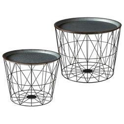 Farmhouse Coffee Table Sets by Ganz USA LLC