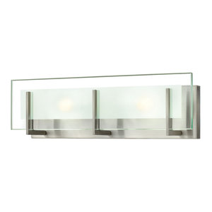 Hinkley Latitude Bath 2-Light Vanity, Brushed Nickel