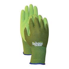 Bamboo Rubber Palm Gloves, C5301, Medium