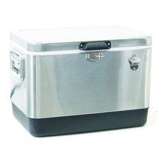 Shelter Logic TC54SS-1 54 Quart Stainless Steel Cooler