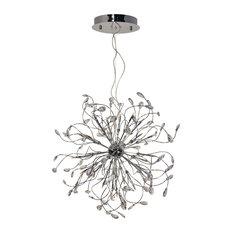 Foggia LED Crystal Chandelier, Large