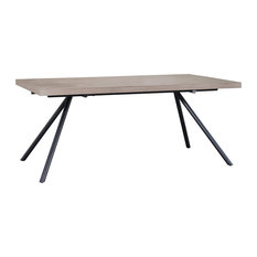 """Sia Dining Table, Slate Gray, 89"""""""