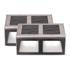 SUNSTEP Solar Steel Step, 2 Pack, Medium