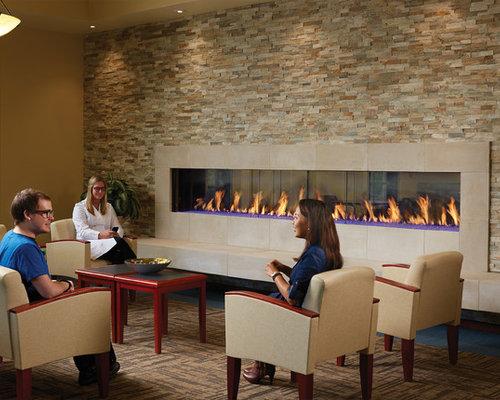 DaVinci See-Thru - Indoor Fireplaces