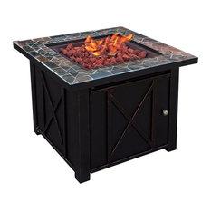 Barton Outdoor Patio Heater Fire Pit Stainless Steel Burner Lpg, 30000Btu