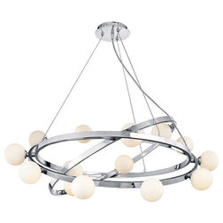 Cool Modern Chandeliers by ALCOVE LIGHTING