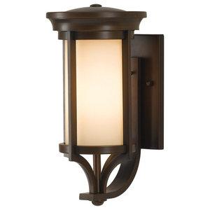 Small Wall Lantern, Heritage Bronze