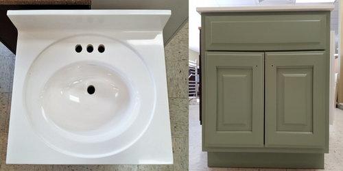Vanity with Top - Bathroom Vanities And Sink Consoles