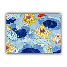 Koi Indoor/Outdoor Placemat, Finished Edge