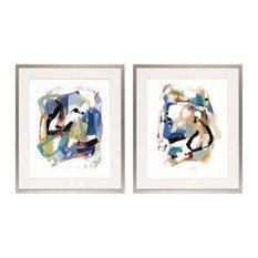 Abstract Season  Framed Art Print