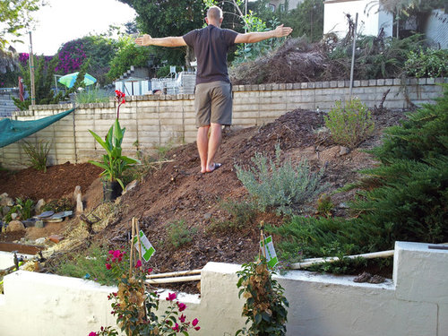 View How To Fix A Sloped Backyard Pics - HomeLooker