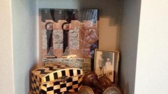 Scott Street Bedroom Reclaimed Barn Wood Shelves