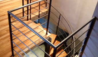 modern staircases and railings
