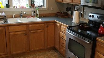 Progress of a Kitchen