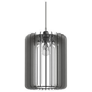 Cilindro Lamp 30, Silver D-Bond