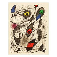 Joan Miro, A L'Encre II, 1972, Artwork