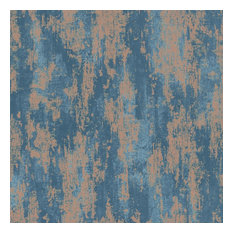 Boutique Industrial Texture Wallpaper, Turqouise, Roll