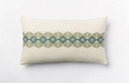 Center Brocade Pillow Cover