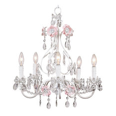 5-Arm Flower Garden Chandelier