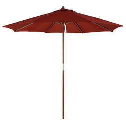 Contemporary Outdoor Umbrellas by Western Sierra Trading Company