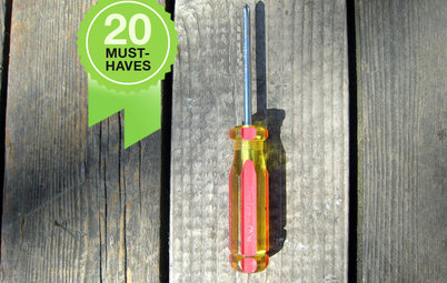 20 Tools Every Homeowner Should Have