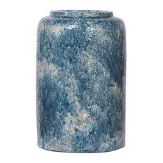 Firth Round Vase, Blue, Large
