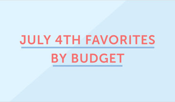 Up to 75% Off July 4th Favorites by Budget