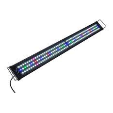 "156 Led Aquarium Light Multi-Color Full Spectrum Marine 40""-50"" Fish Tank Lamp"
