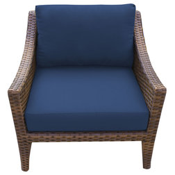Tropical Outdoor Lounge Chairs by Burroughs Hardwoods Inc.