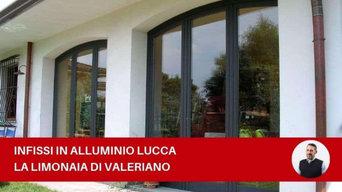 Infissi in alluminio Lucca | La limonaia di Valeriano