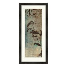 Surya LJ-4127 Wall Art Wildflower Resonance II Blue 21  x43   Portrait Artwork
