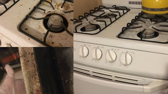 Deep Cleaning of Stove and Oven in Queens
