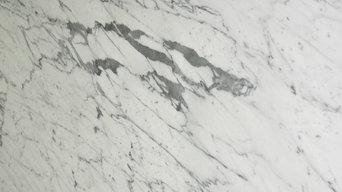 "Statuarietto 3cm marble 114"" x 77"""