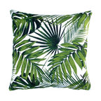 Tropical Botanics Throw Pillow, Cover Only