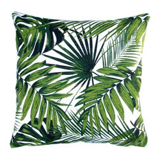 Tropical Botanics Throw Pillow, Cover and Polyester Insert