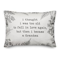Too Old for Love Grandma 14x20 Lumbar Pillow